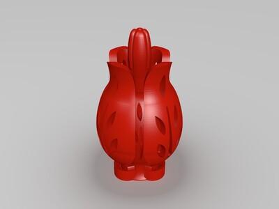 花-3d打印模型
