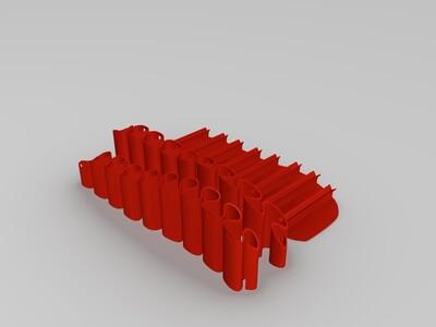 弹力鞋-3d打印模型