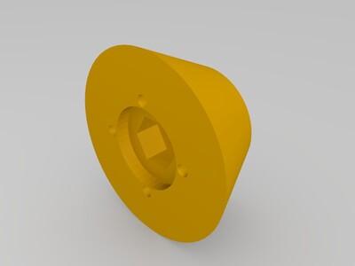 三角洲顶部料架-3d打印模型