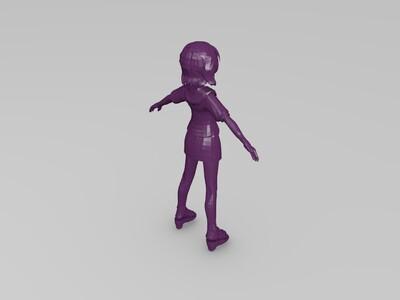 动漫女友-3d打印模型