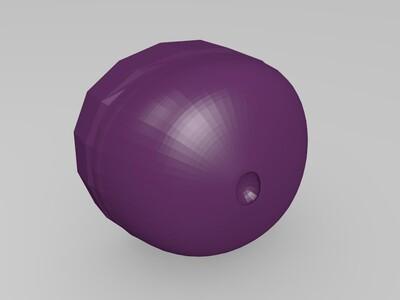 拼装鲤鱼王-3d打印模型