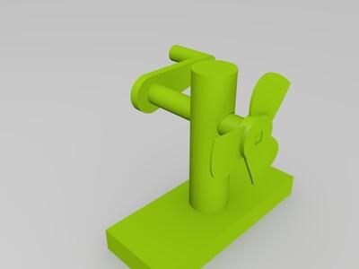 小风扇-3d打印模型