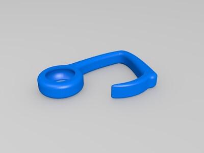 耳机挂钩-3d打印模型