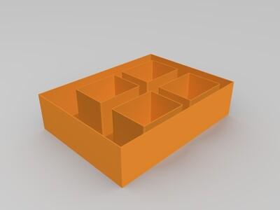 小饰品盒子-3d打印模型