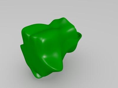河马-3d打印模型