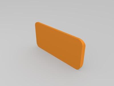轮胎纹测尺-3d打印模型