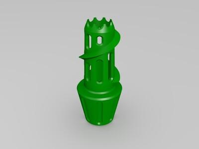 果汁吸取器-3d打印模型
