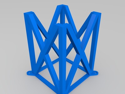 支撑架-3d打印模型