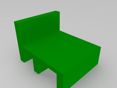 笔记本电脑支架-3d打印模型