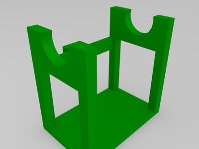 材料支架-3d打印模型