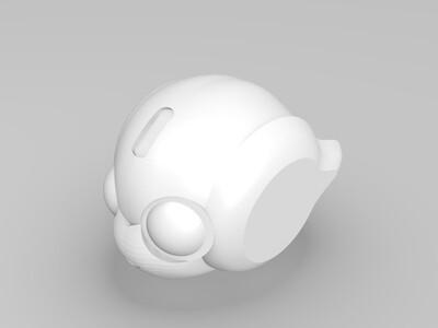 洛比 头像-3d打印模型