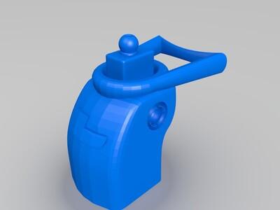 robi洛比的身体-3d打印模型