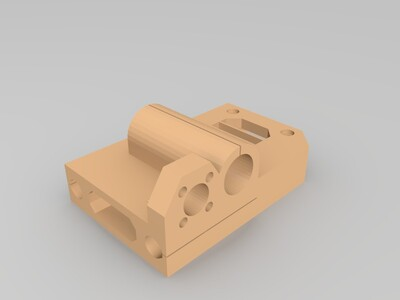 Prusa i3 X轴配件-3d打印模型
