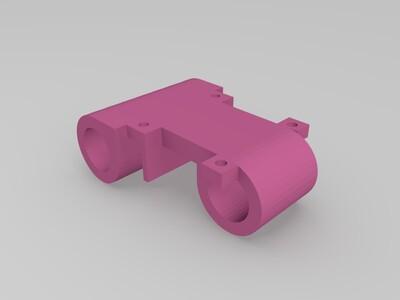 挤出机托架-3d打印模型