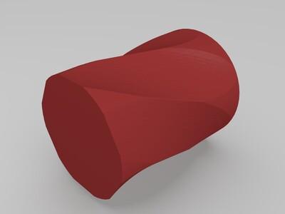 一个小笔筒-3d打印模型