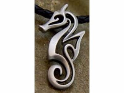 海马线纹 吊坠-3d打印模型