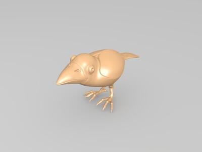 乌鸦-3d打印模型
