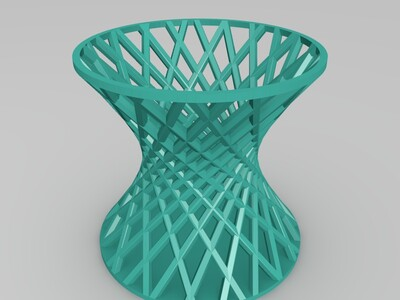 网状花瓶-3d打印模型