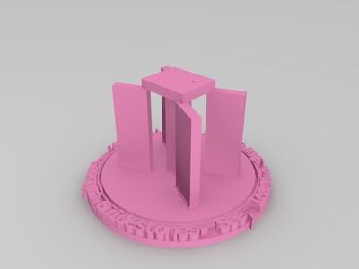 佐治亚引导石-3d打印模型