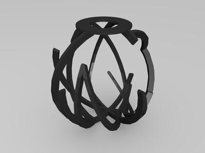 环球剧场灯罩-3d打印模型