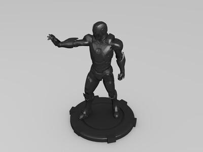 钢铁侠摆件-3d打印模型