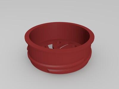 研磨机-3d打印模型