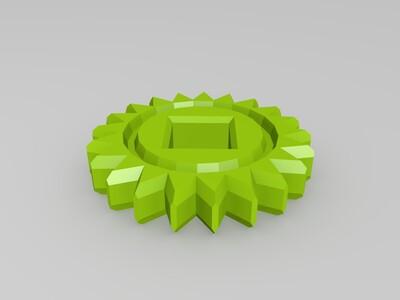 齿轮玩具组-3d打印模型