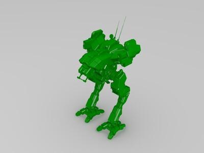 蝗虫侦察机甲-3d打印模型