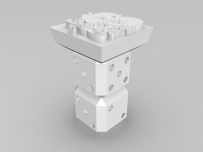 黑塔利亚印章-3d打印模型