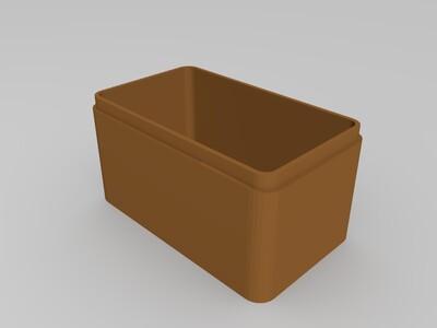 生肖首饰盒 马-3d打印模型