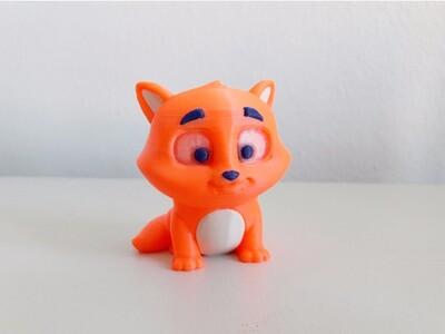 分色组装 小猫-3d打印模型
