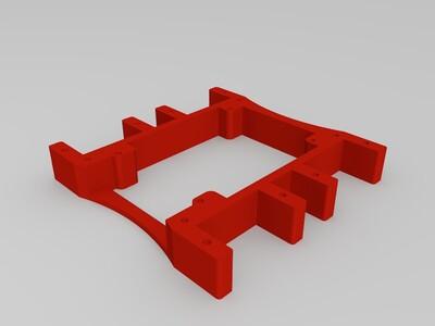 微型机器人-3d打印模型