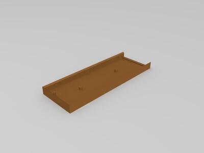 Apple Air 笔记本SSD壳-3d打印模型