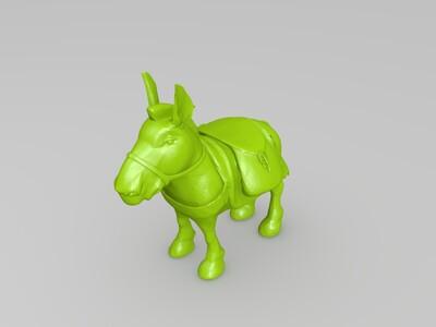 驴子DOTA2-3d打印模型