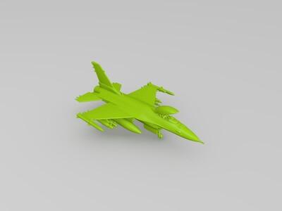 F16 战斗机-3d打印模型