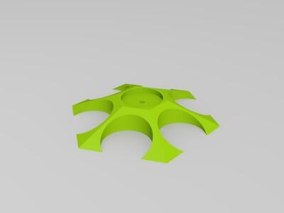杯架-3d打印模型