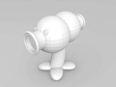 Split Pea分裂豆-3d打印模型