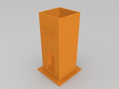 可转风车-3d打印模型