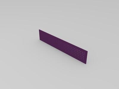 气体粉末流通过滤板-3d打印模型