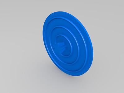 星巴克水杯盖子-3d打印模型
