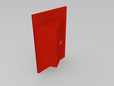 输送带轮轴-3d打印模型