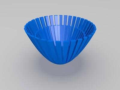 百合-3d打印模型
