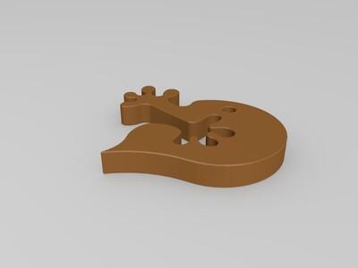 双手组合心-3d打印模型