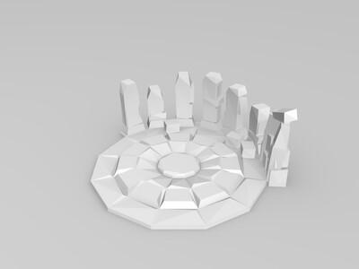 祈祷石-3d打印模型