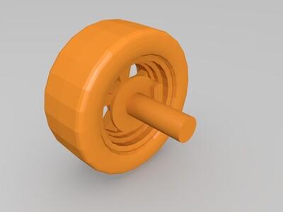 科尔维特ZR1-3d打印模型