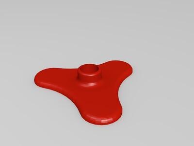 纸毛巾架-3d打印模型