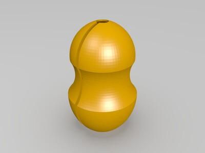 LED灯泡罩-3d打印模型