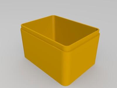 生肖首饰盒 狗-3d打印模型