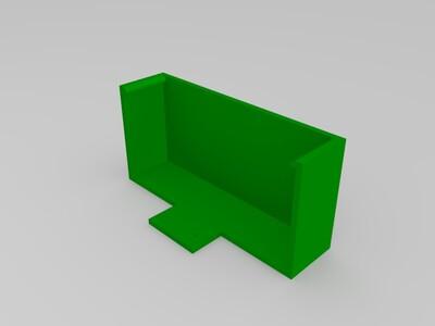 30A开关电源盒-3d打印模型