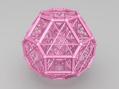 网格结构-3d打印模型